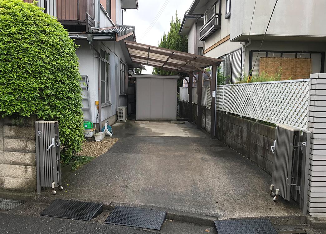 【滋賀県守山市】 カーポート撤去 倉庫撤去