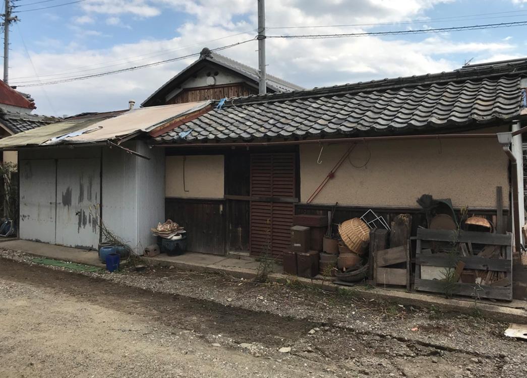 【滋賀県栗東市】倉庫解体  残置物撤去 プチ解体