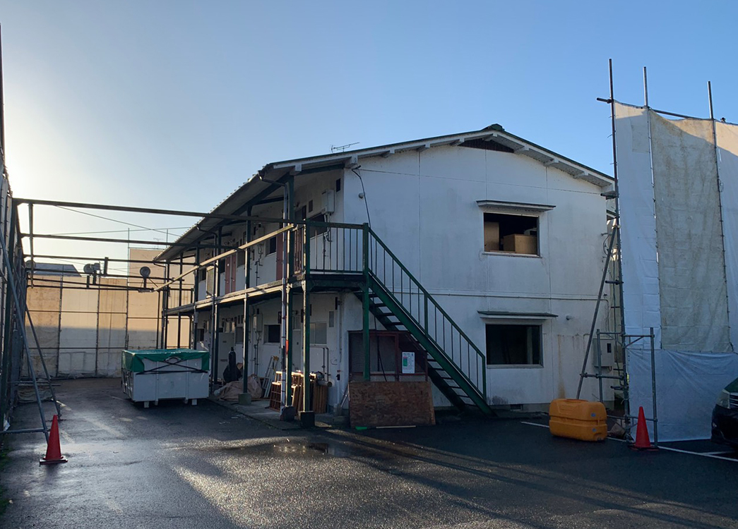 【滋賀県大津市】木造2階建アパート解体工事