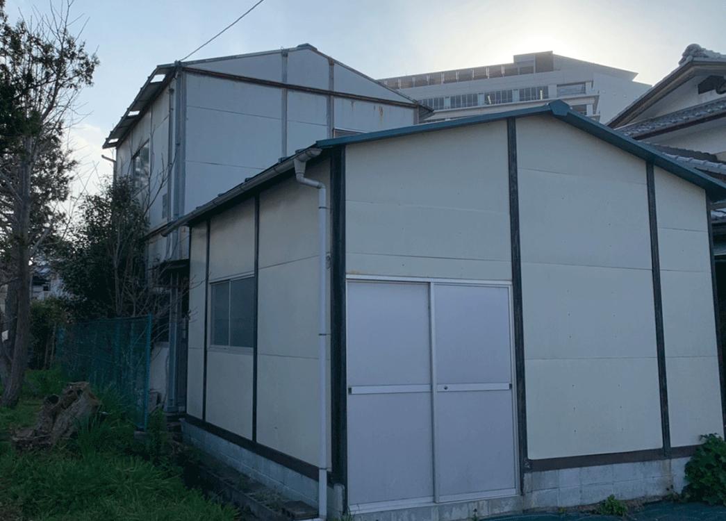 【滋賀県守山市】軽量倉庫二階建解体工事
