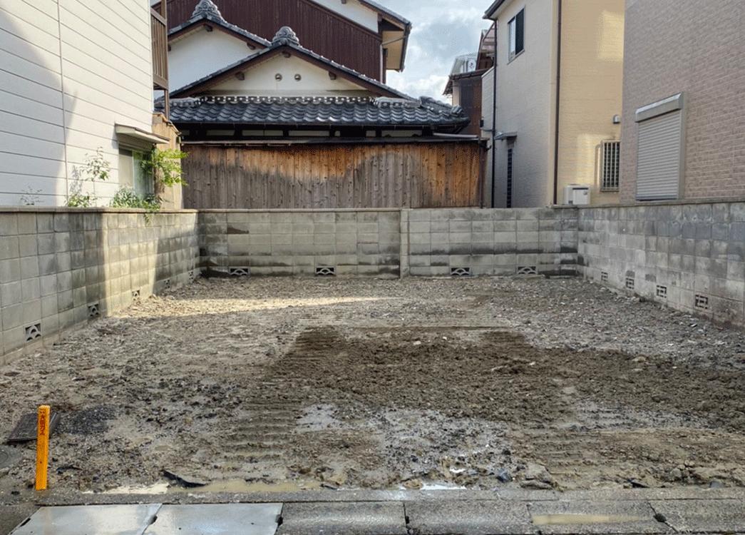 木造二階建て解体工事