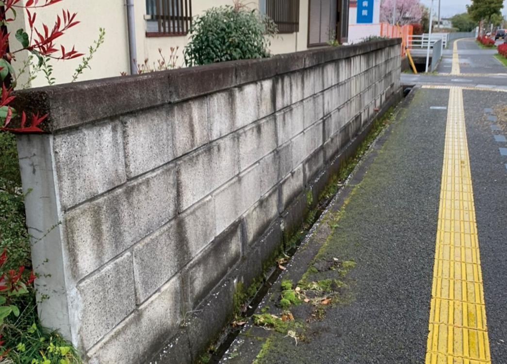 【滋賀県守山市】ブロック撤去工事