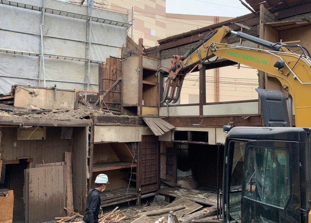 【滋賀県大津市】木造2階建縁切り解体工事