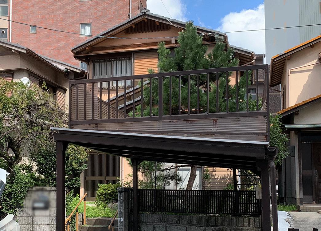 【滋賀県草津市】木造2階解体工事